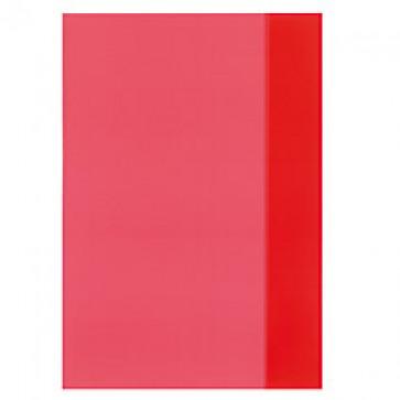Coperta A4, PP, rosu transparent, 25 buc/set, HERLITZ