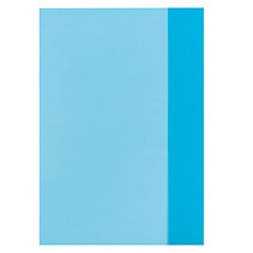 Coperta A4, PP, albastru transparent, 25 buc/set, HERLITZ