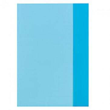 Coperta A5, PP, albastru transparent, 25 buc/set, HERLITZ