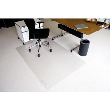Protectie podea pentru covoare, forma O, 180 x 120cm, RS OFFICE EcoBlue