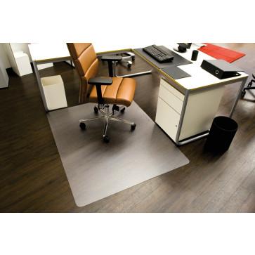 Protectie podea pentru suprafete dure, forma O, 150 x 120cm, RS OFFICE EcoBlue
