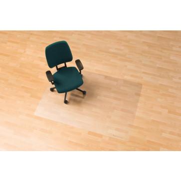 Protectie podea pentru suprafete dure, forma O, 200 x 120cm, RS OFFICE EcoBlue