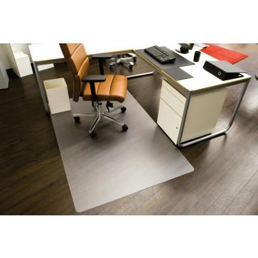 Protectie podea pentru suprafete dure, forma O, 300 x 120cm, RS OFFICE EcoBlue