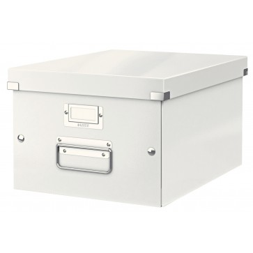 Cutie pentru arhivare, 281 x 200 x 370mm, alb, LEITZ Click & Store
