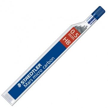 Mine pentru creion 0.5mm, 2B, 12 buc/etui, STAEDTLER Mars micro carbon