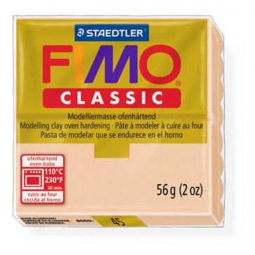 Plastilina pt. modelaj, 56gr, crem inchis (dark flesh), STAEDTLER Fimo Classic