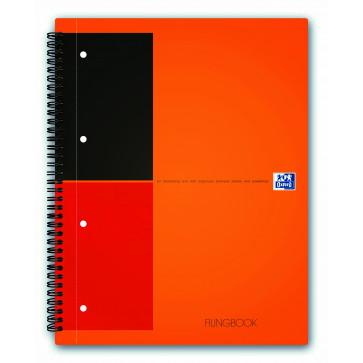Caiet pentru birou cu spira, A4+, 100 file, dictando, OXFORD FilingBook