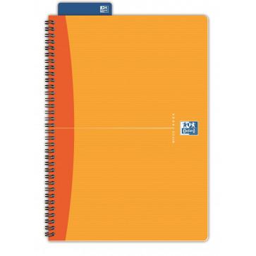Caiet pentru birou cu spira, diverse culori, A5, 90 file, matematica, OXFORD Essentials
