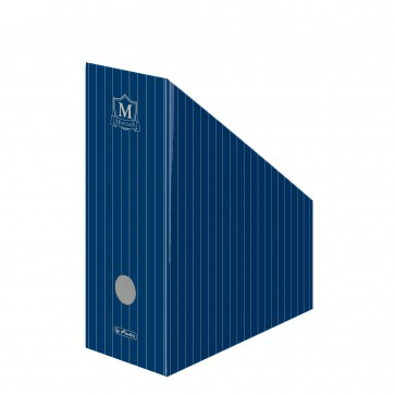 Suport vertical, din carton, albastru, HERLITZ Montana