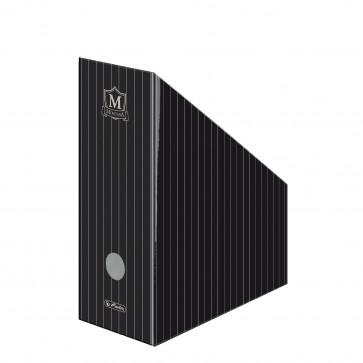 Suport vertical, din carton, negru, HERLITZ Montana
