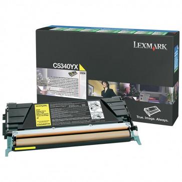 Toner, yellow, LEXMARK C5340YX