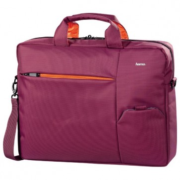 Geanta laptop, 15.6'', poliester, roz, HAMA Marseille
