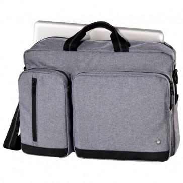 """Geanta laptop HAMA Hailfax, 15.6"""", politex, gri"""