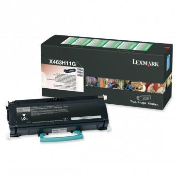 Toner, black, LEXMARK X463H11G