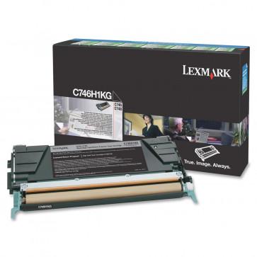 Toner, black, LEXMARK C746H1KG