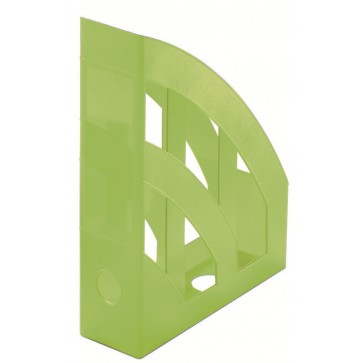 Suport vertical, verde semitransparent, HERLITZ