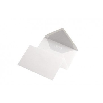 Plic C7, 90 x 140mm, gumat, alb, 80 g/mp, fara fereastra, 1700 buc/cutie, GPV