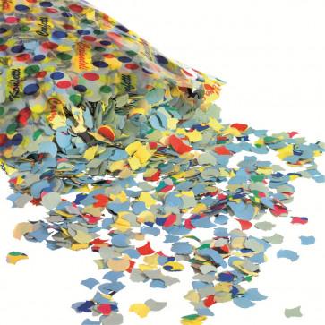 Confetti, diverse forme si culori, 100gr/set, HERLITZ Smiley