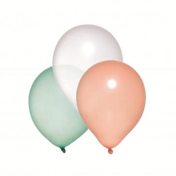 Baloane, diverse culori sidefate, 10 buc/set, HERLITZ