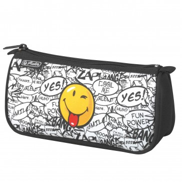 Necessaire, 1 compartiment, HERLITZ Smiley Scribble