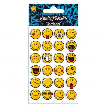 Stickere, 3 coli/set, HERLITZ Smiley World
