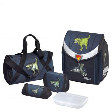 Ghiozdan ergonomic echipat, HERLITZ Flexi Plus Dinomania