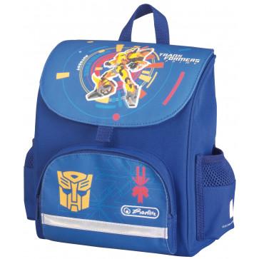 Ghiozdan ergonomic, neechipat, HERLITZ Transformers Bumblebee Mini Softbag