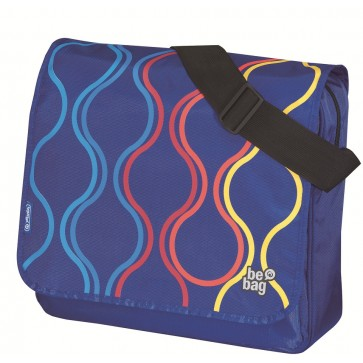 Geanta de umar, tip messenger, HERLITZ Be.Bag Bubbles
