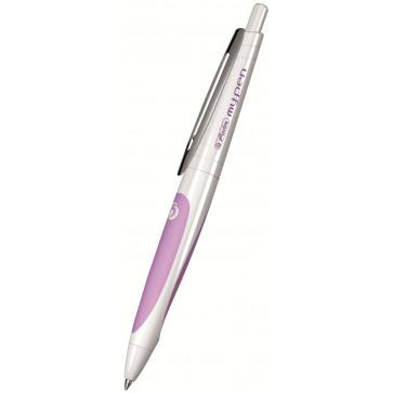 Pix cu gel, alb/roz, HERLITZ my.pen