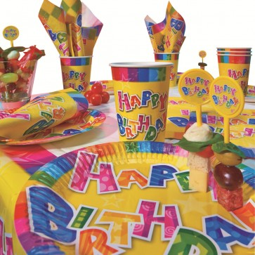 Set pentru party, 31 buc/set, HERLITZ Happy Birthday