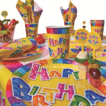Set pentru party, 31 buc/set, HERLITZ Happy Birthday