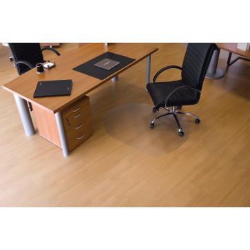 Protectie podea pentru suprafete dure, forma T, 90 x 120cm, RS OFFICE EcoGrip
