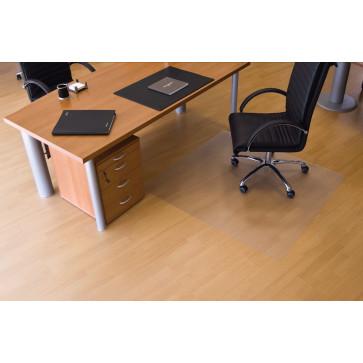Protectie podea pentru suprafete dure, forma O, 150 x 120cm, RS OFFICE EcoGrip