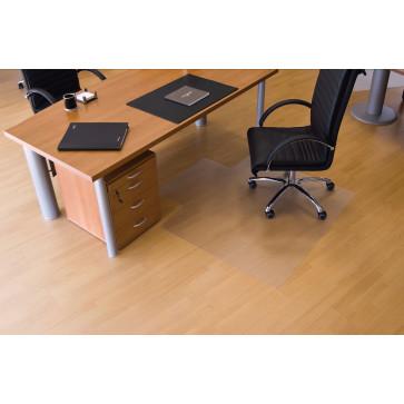 Protectie podea pentru suprafete dure, forma U, 150 x 120cm, RS OFFICE EcoGrip