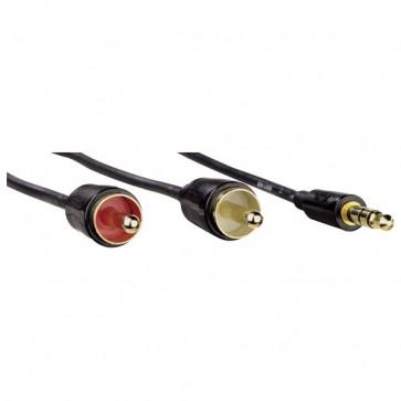 Cablu audio HAMA Flexi-Slim, 1.5m