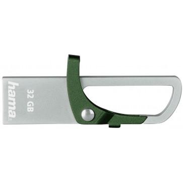 Stick USB HAMA Hook-Sty 32GB verde
