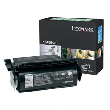 Toner, black, LEXMARK 12A5840