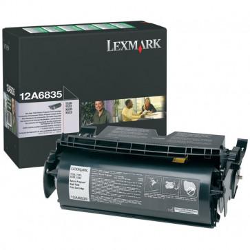 Toner, black, LEXMARK 12A6835