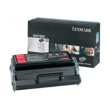 Toner, black, LEXMARK 12A7300