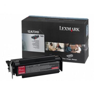Toner, black, LEXMARK 12A7310