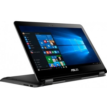 "Laptop 2-in-1 ASUS VivoBook Flip TP301UA, 13.3"" FHD Touch, Procesor Intel® Core™ i5-6200U pana la 2.80 GHz, 4GB, 1TB, GMA HD 520, Win 10 Home, Black"