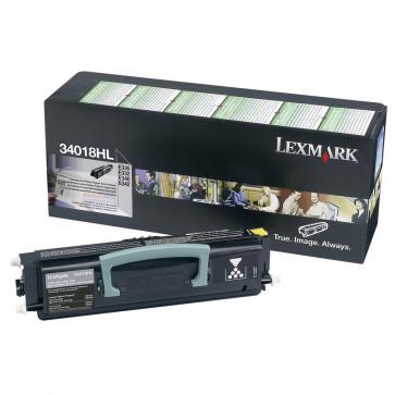 Toner, black, LEXMARK 34016HE/12A8405
