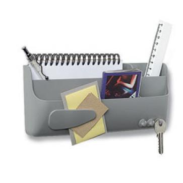 Suport magnetic, pentru accesorii tabla, gri, BI-OFFICE Smart-Box