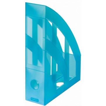 Suport vertical, turcoaz semitransparent, HERLITZ