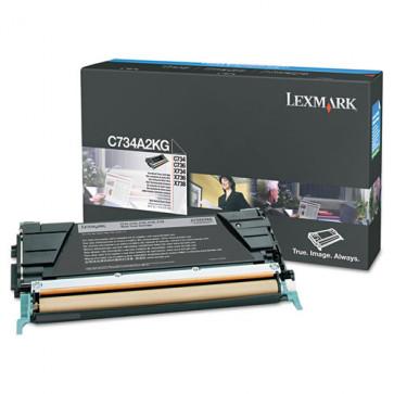 Toner, black, LEXMARK C734A2KG