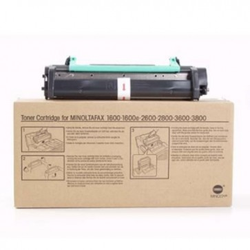 Toner, black, MINOLTA 1600/2600/2800/3600