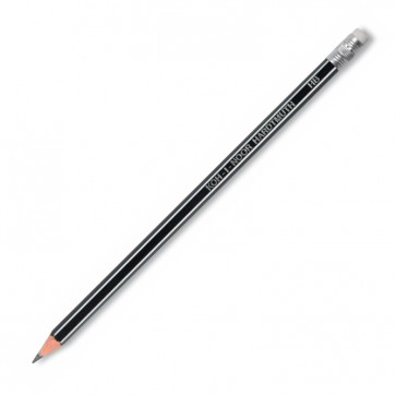Creion cu mina grafit, HB, flexibil, cu radiera, KOH-I-NOOR