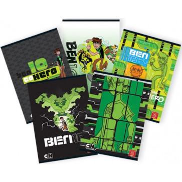 Caiet A5, 24 file, tip 2, PIGNA Premium - BEN10