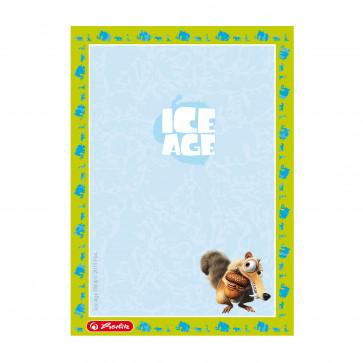 Bloc notes A6, 50 file, HERLITZ Ice Age