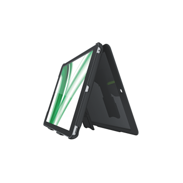 Multi-carcasa iPad Air, cu capac cu filtru de confidentialitate si stativ, negru, LEITZ Complete